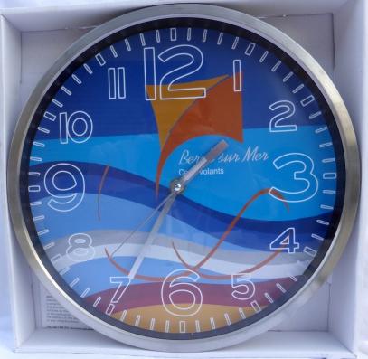 horloge cadeau, personnalisation d'horloge,